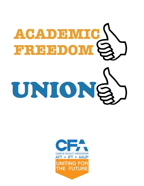 CFA THUMBS - academic freedom union